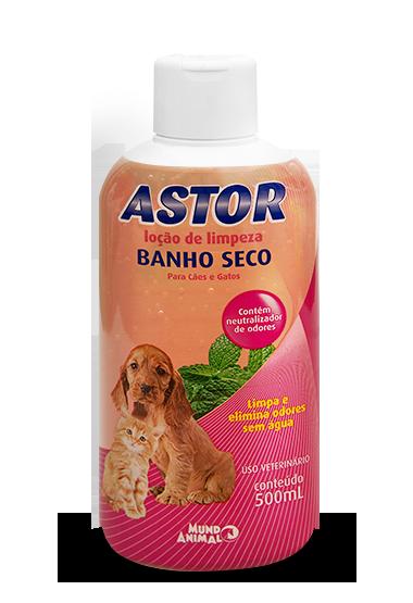 Banho a Seco Astor para Cães e Gatos 500 ml