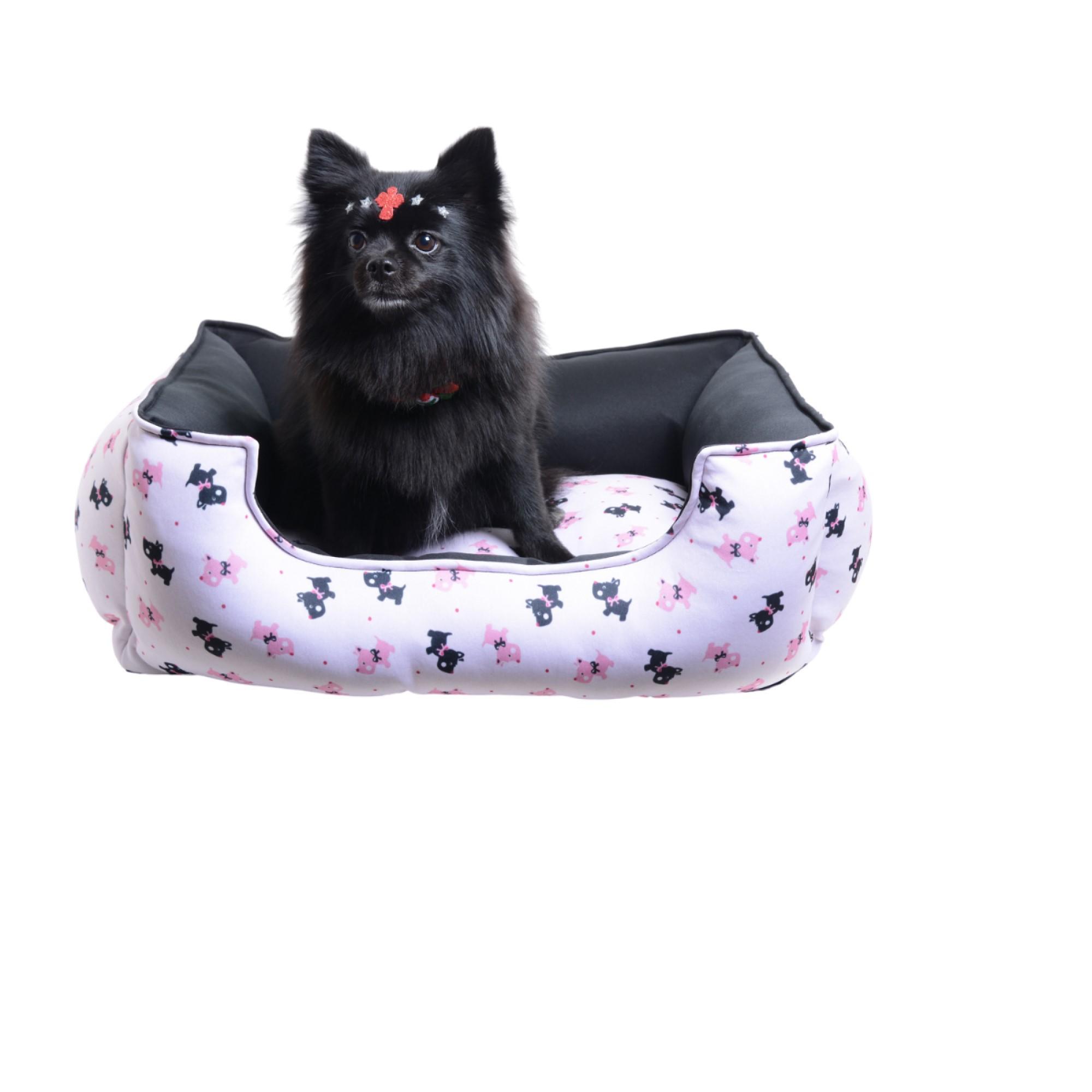 Cama para Cachorro Luxo Protect - Rosa