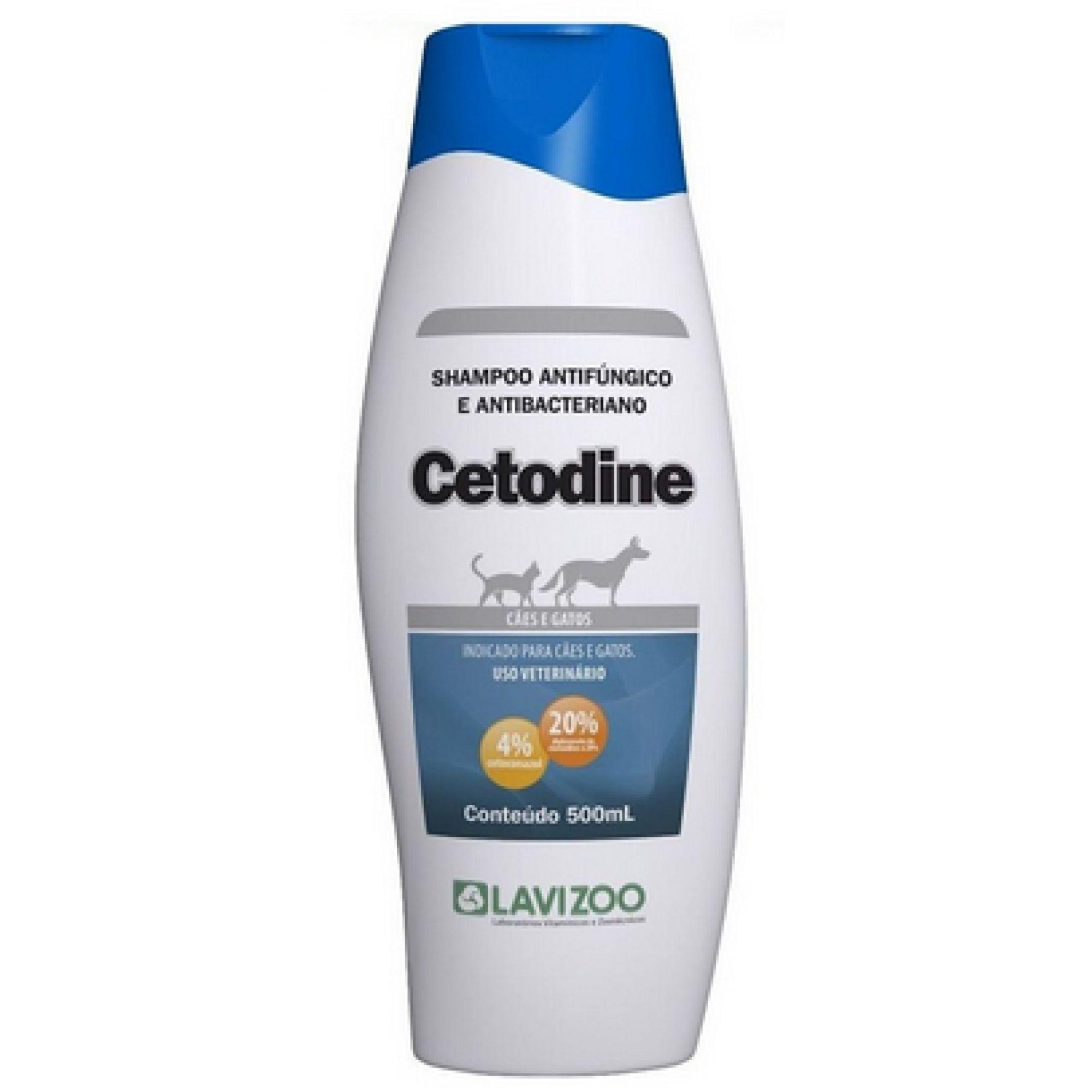 Cetodine Shampoo Lavizoo 500 Ml