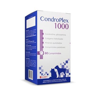 Condroplex 1000 Cães Avert 60 Comprimidos