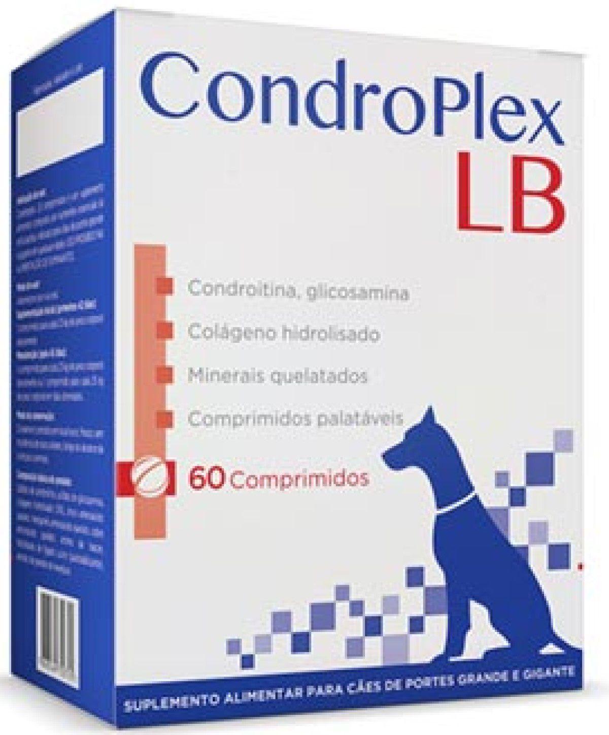 Condroplex LB 60 Comprimidos Cães Avert