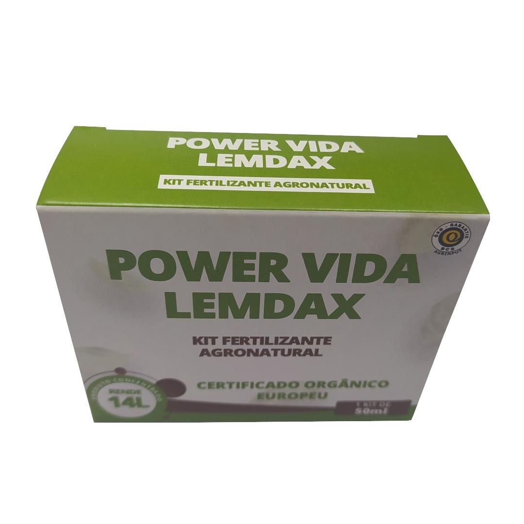 Power Vida 50 ml - Xilotrom Gold, Tarssus Green, Rhizum
