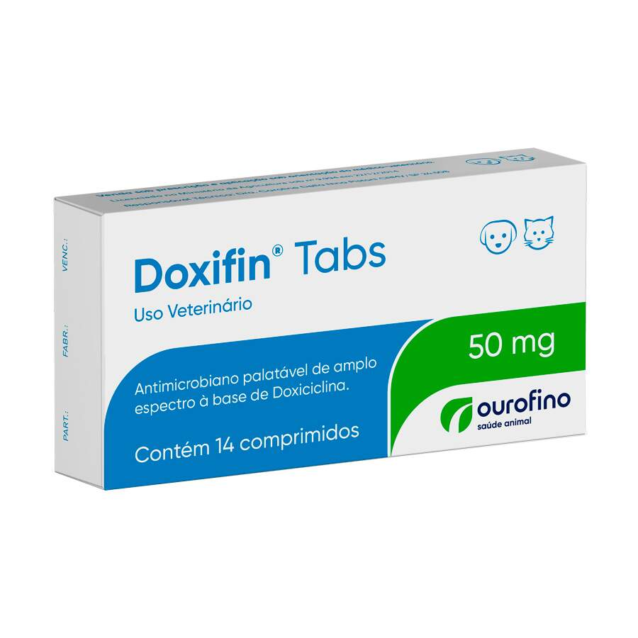Doxifin 50 Mg - 14 Comprimidos