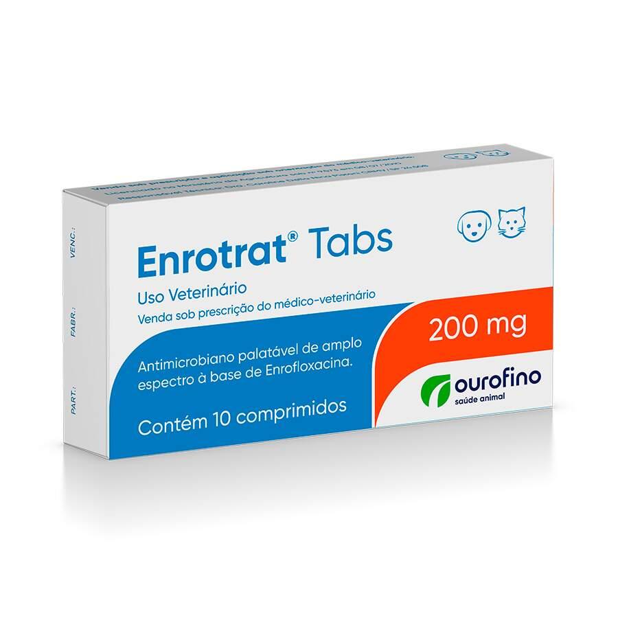 Enrotrat 200 Mg - 10 Comprimidos