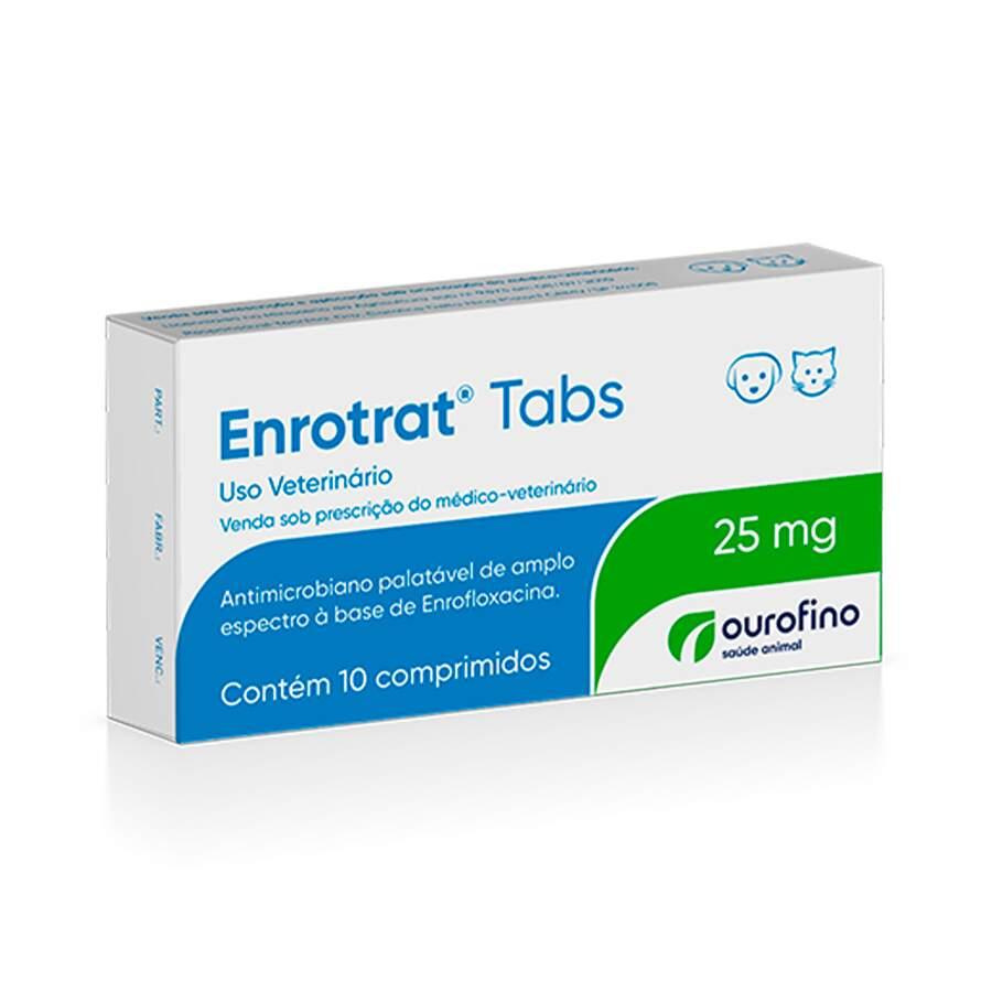 Enrotrat    25 Mg - 10 Comprimidos