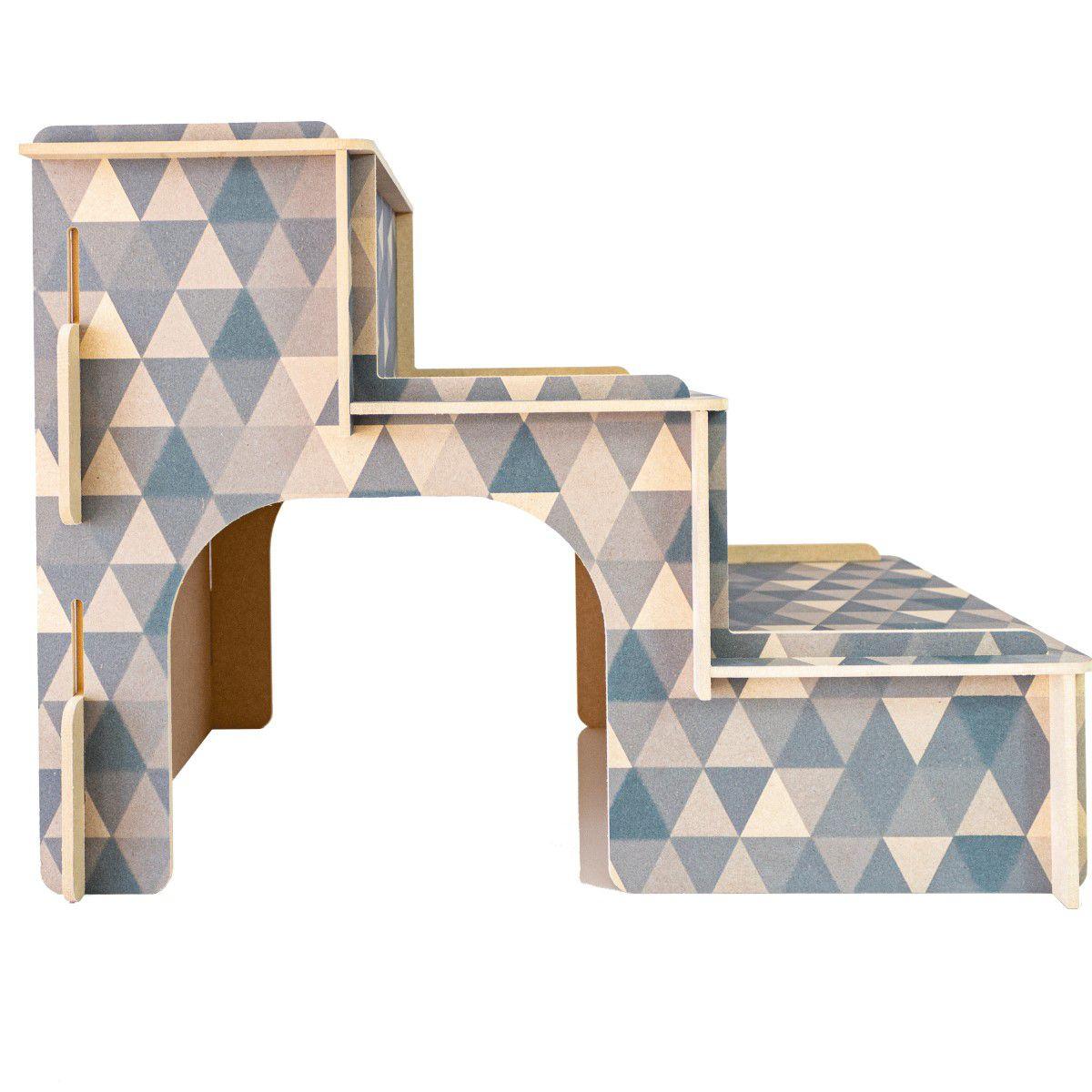 Escada Para Cachorro e Gatos - Geometrica