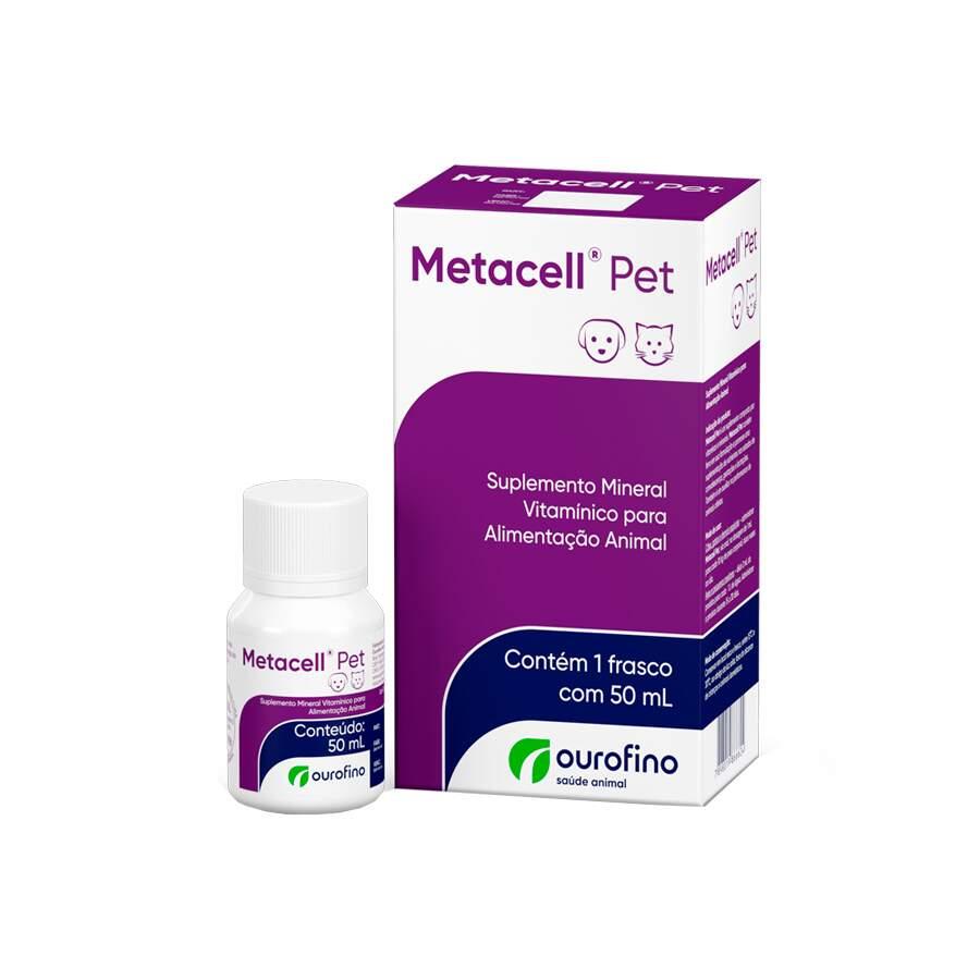 Metacell Pet Suplemento Vitaminico Oral 50 ml