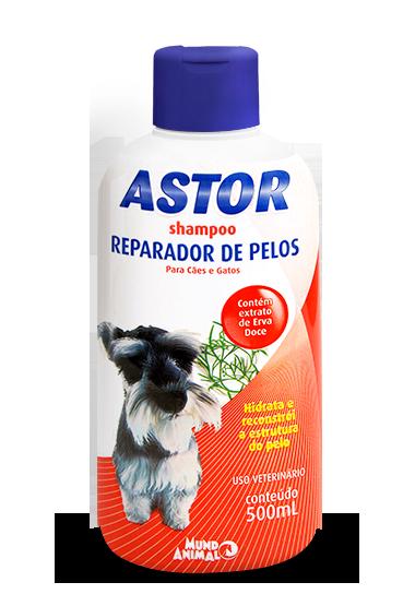 Shampoo Astor Reparador de Pelos 500 ml