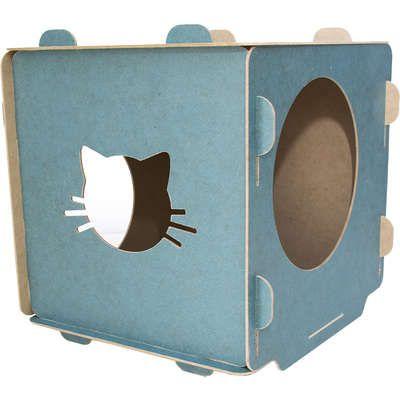 Casinha para Gatos - Cubo Azul
