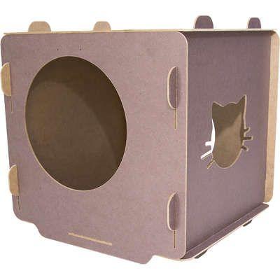 Casinha para Gatos - Cubo Roxo