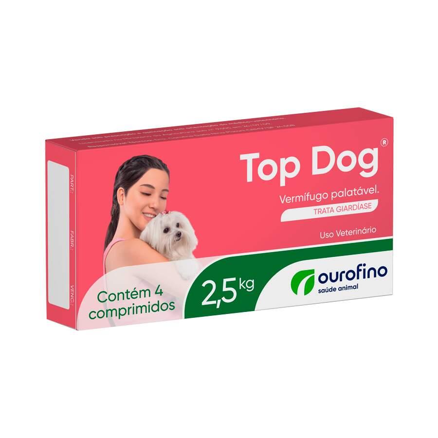 Top Dog2,5 KG - 04 Comprimidos