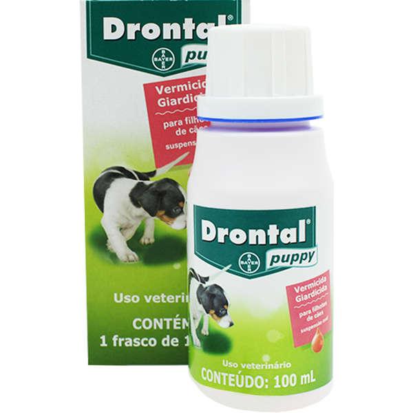 Vermifugo Drontal Puppy 100ML - Filhotes