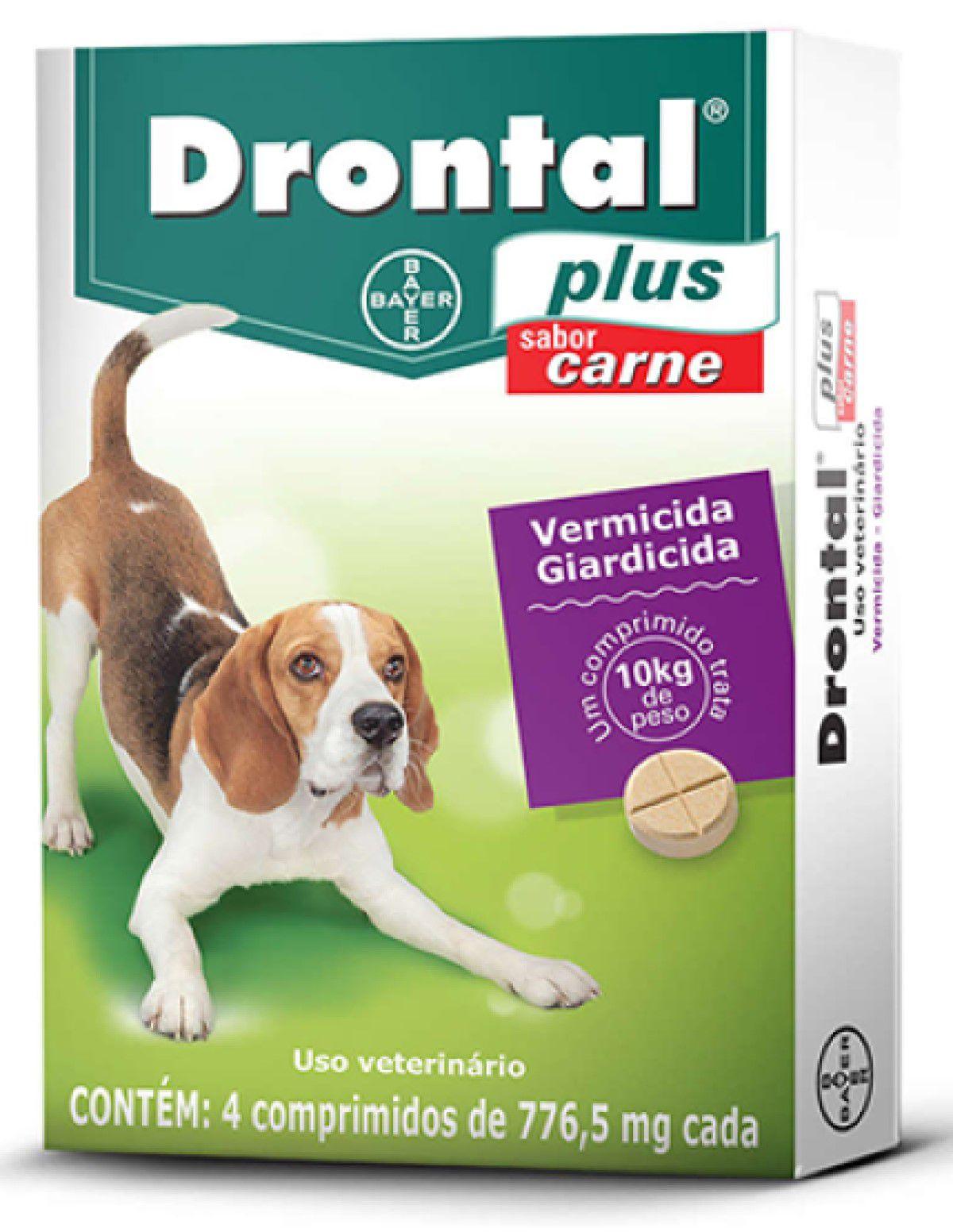 Vermifugo Para Cães Drontal Plus 10KG