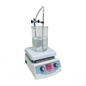 Agitador Magnético Analógico com Chapa Cerâmica até 5 litros