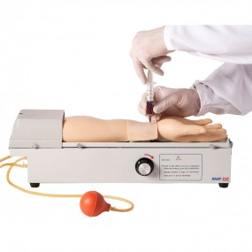 Braço para Treino de Punção em Artéria Radial Rotativo