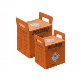 Caixa Coletora para Material Perfurocortante Descartável Laranja