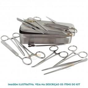 Caixa para Colocação de Diu em Aço Inox 6 Itens