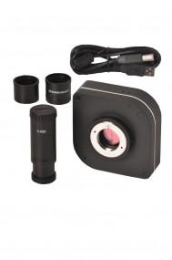 Câmera Científica Digital 12.0 Mp com Coftware E Lente Redução