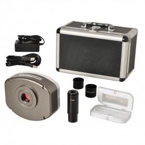 Câmera Digital Refrigerada Ccd 5.0mp com Coftware (especial para Trabalhos com Fluorescência E Campo Escuro)