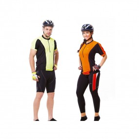 Camiseta Ciclista com Ziper Mod. Tornado Ii Unisex