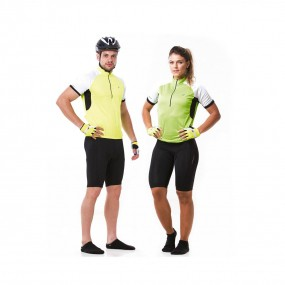 Camiseta Ciclista com Ziper Mod. Tornado Unisex