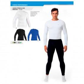 Camiseta Térmica Ski Aron Manga Longa
