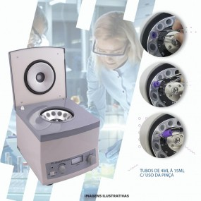 Centrífuga Analógica Mod. 80-2b - 12 Tubos/15ml
