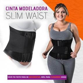 Cinta Modeladora Slim Waist - Redução de Medidas
