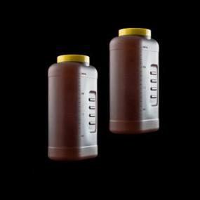 Coletor de Urina 24 Horas a Granel 2 Litros sem Alça Caixa 40 Unidades