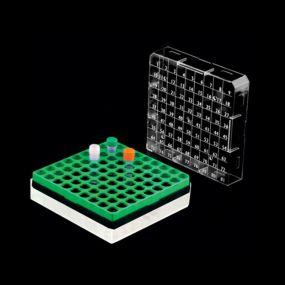 Criobox em Policarbonato Capacidade 81 Tubos de 1-2ml