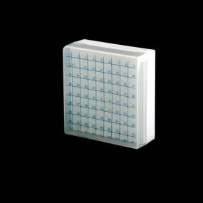 Criobox para 81 Tubos Tampa Destacável Numérico Neutro 2,0ml