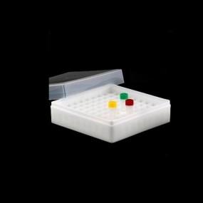 Criobox para Tubos Tampa Destacável Neutro 1,5/2,0ml