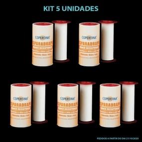 Esparadrapo Hipoalergênico E Microporoso Branco Kit 5 Unidades