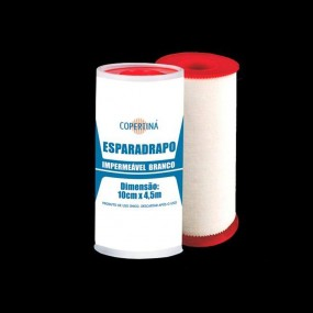 Esparadrapo Impermeável Branco 10 Unidades
