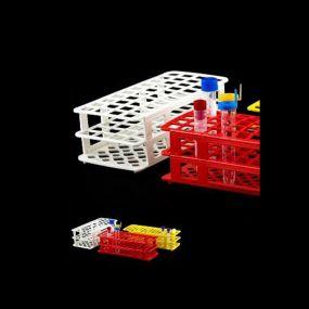 Estante Plastica para Tubos de Ensaio