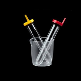 Kit de Urina Tubo Ps Manual/autom. 12ml Tampa Amarela/vermalha Estéril