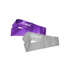 Kit Faixa Elastica Mini Bands Extra Forte E Super Forte