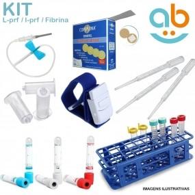 Kit L-prf Prp I-prf Prf Tubo Coleta Sangue Fibrina + Brinde