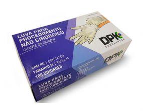 Luva de Látex com Pó para Procedimento Descarpack Uso Médico Descartável