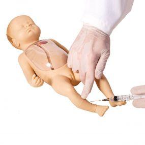 Manequim Avançado Neonatal para Punção Venosa Central E Periférica