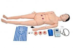 Manequim Avançado p/ Cuidados Geriátrico Feminino c/ Órgãos Interno