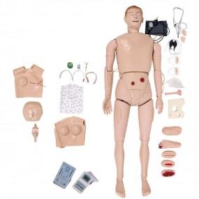 Manequim Bissexual, Simulador para Treino de Enfermagem E Rcp