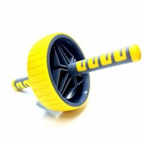 Roda de Exercício Premium Amarela Liveup