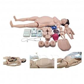 Simulador Avançado de Parto Automático com Módulo de Emergência a Parturiente E ao Bebê