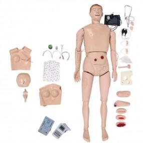 Simulador Manequim Bissexual, Simulador para Treino de Enfermagem E Rcp