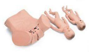 Simulador Recém-nascido Completamente Desenvolvido para Parto a Fórceps - 3b Scientific