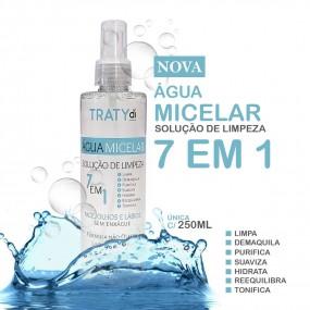 Solução de Limpeza Facial 7 em 1 - Água Micelar - 250ml