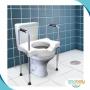 Elevador de Assento Sanitário c/ Alças Reguláveis - Sit V - Carci - SIT V