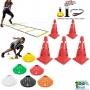 Kit Escada + 8 Cones + 10 Half Cone Funcional