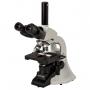 Microsc. Biol. Trino 40 ~ 1000x c/ Óptica Infinita Planacromatica, Iluminação LED 3W